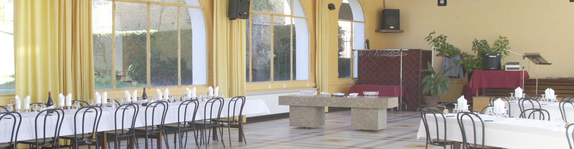 Le Relais De La Tourelle - Salle des banquets